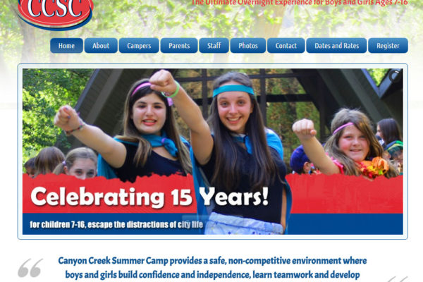CanyonCreekSummerCamp.com